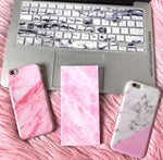 Pink Marble Power Bank Charger