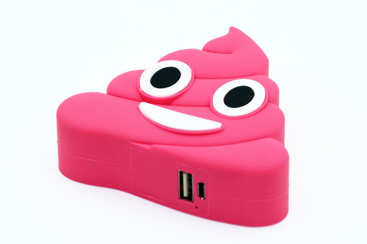 Pink Poo Power Bank Charger – luxylemon