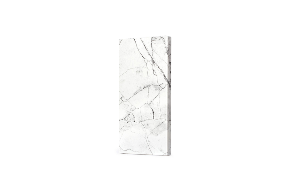 White Marble Power Bank Charger