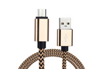 Black & Gold Charge & Sync Cable