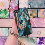 Mystic Marble Battery Power Phone Case