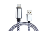 Black & White Charge & Sync Cable