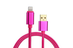 Fuschia Charge & Sync Cable