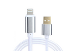 White Charge & Sync Cables