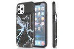 Black Holo Marble Ultra Battery Case