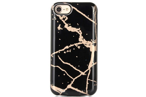 Pastel Canyon Marble Battery Power Phone Case