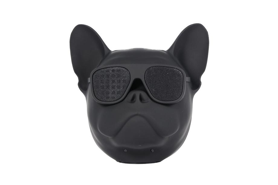 Black Frenchie Bluetooth Speaker