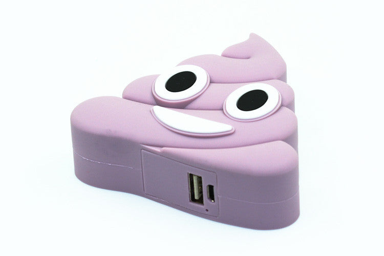 Purple Poo Power Bank Charger