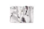 Gray & White Fur Macbook Protective Case
