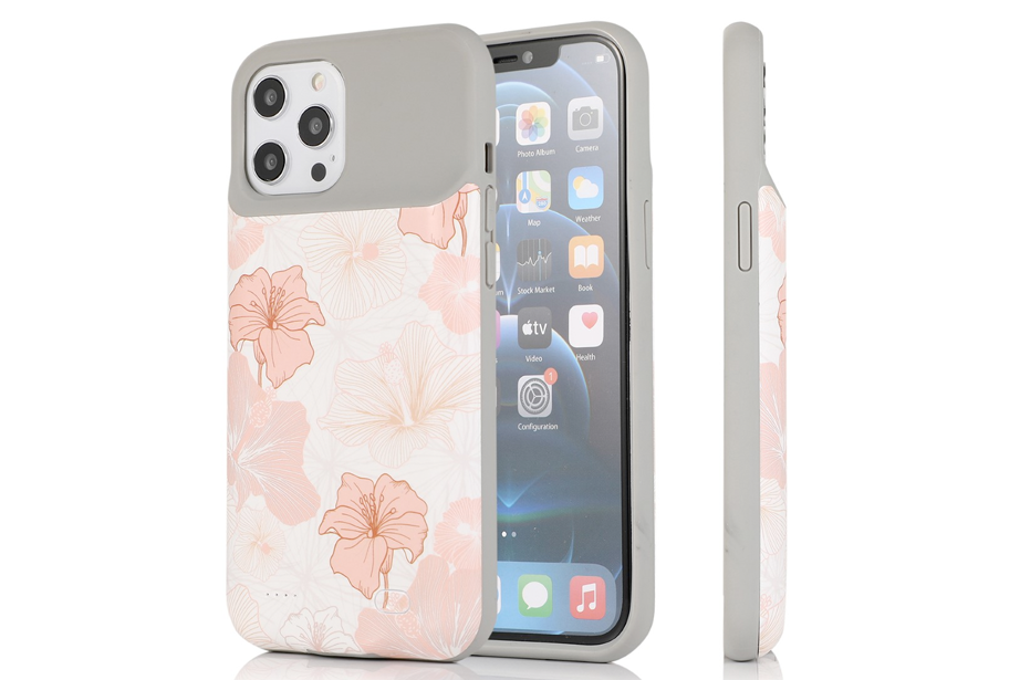 Blush Floral Ultra Battery Case
