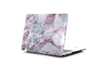 Purple Hint Marble Macbook Protective Case