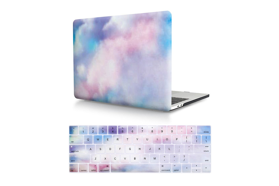 Cotton Candy Sky Macbook Protector Set