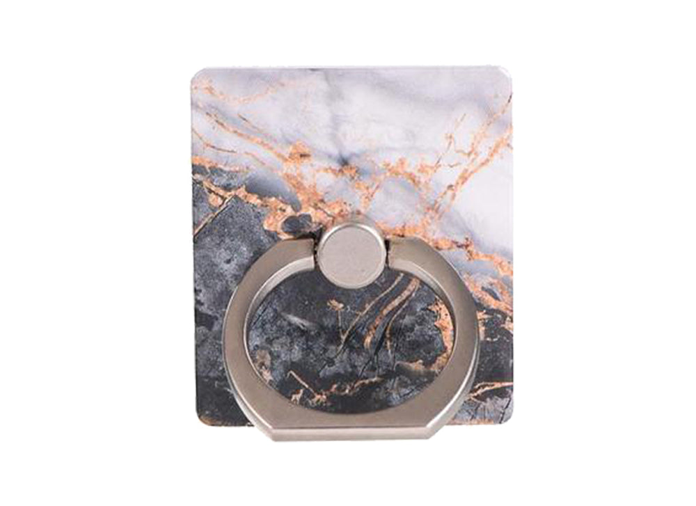 Charcoal Marble Ring Holder