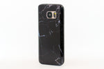 Black Marble Samsung Phone Case