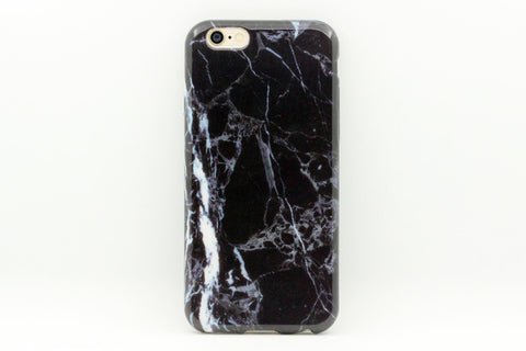 Smokey Gray Marble Phone Case