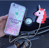 Pink Unicorn Power Bank Charger