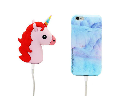Mint Unicorn Power Bank Charger