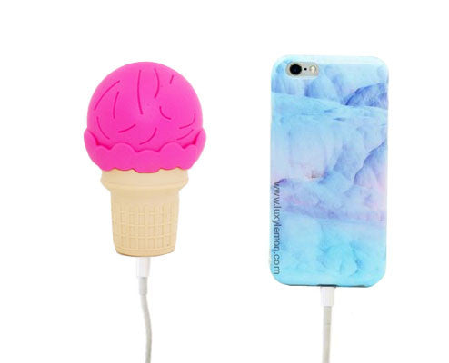 Ice Cream Power Bank Charger