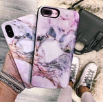 Pastel Canyon Marble Samsung Phone Case