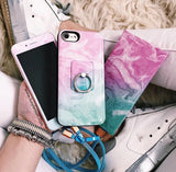 Cotton Candy Marble Power Bank Charger