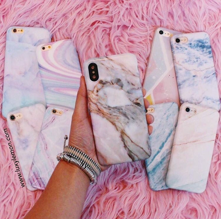 Pastel Canyon Marble Phone Case