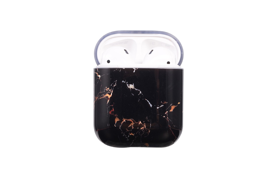 Black & Gold Marble AirPod Holder