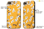 Floral Sunshine Battery Power Phone Case