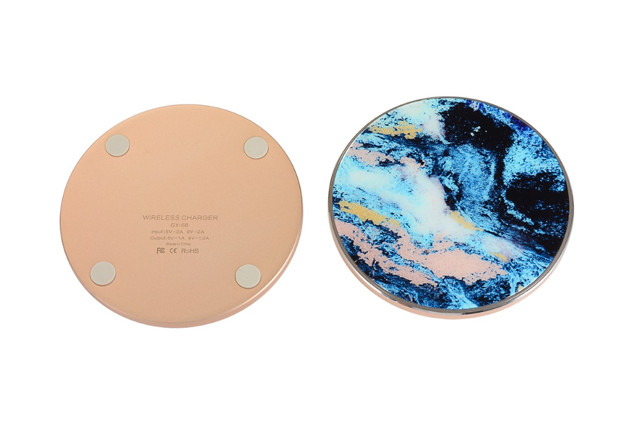 Mystic Marble Wireless Charging Pad