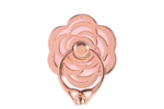Rose Gold Bling Ring Holder