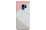 Pink & Gray Marble Trio Samsung Phone Case