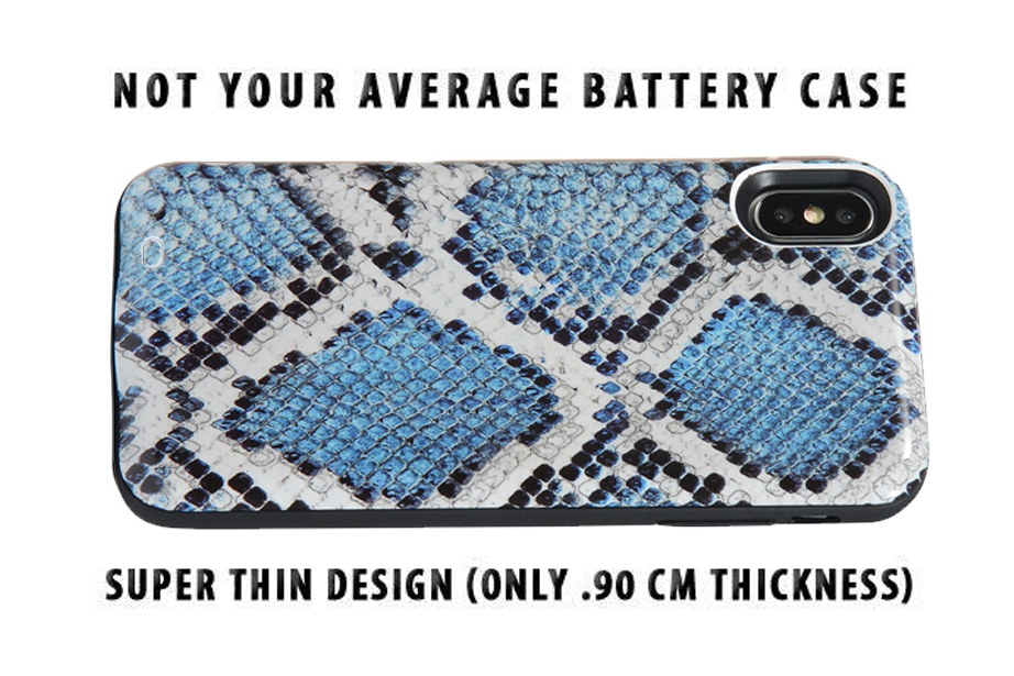 Snakeskin Battery Power Phone Case