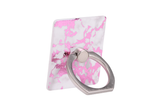 Pink Metallic Ring Holder