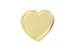 Shiny Gold Heart Ring Holder