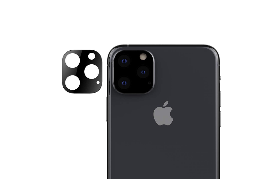 Black Lens Protector for iPhone 11