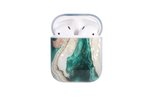 Emerald Green Marble AirPod Holder
