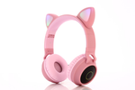 Pink Cat Ears Wireless Headphones