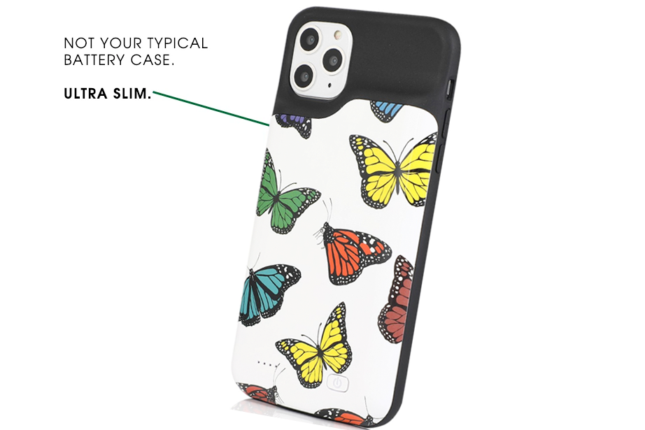 Butterfly Ultra Battery Power Phone Case