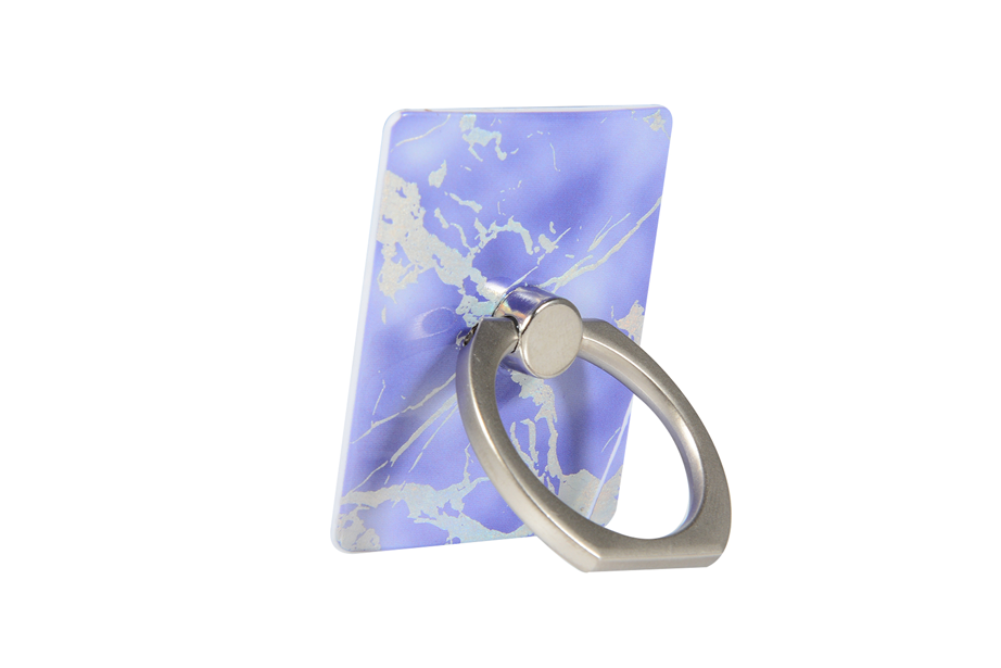 Purple Holo Ring Holder