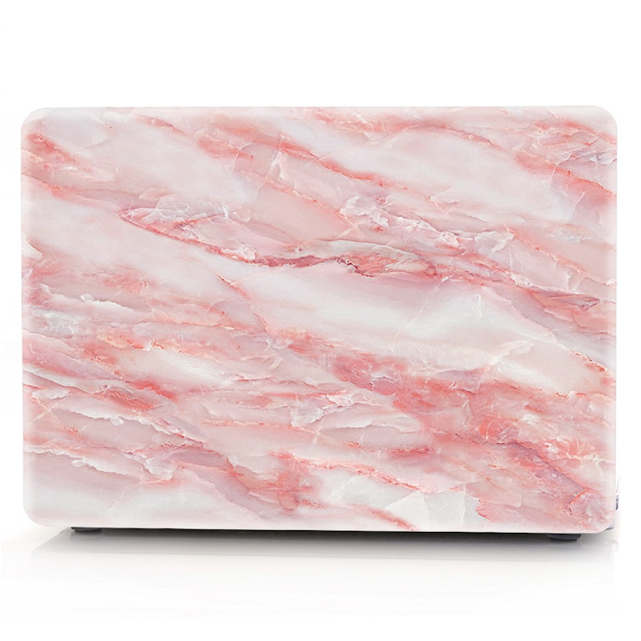 Pink Marble Stone Macbook Protector Set