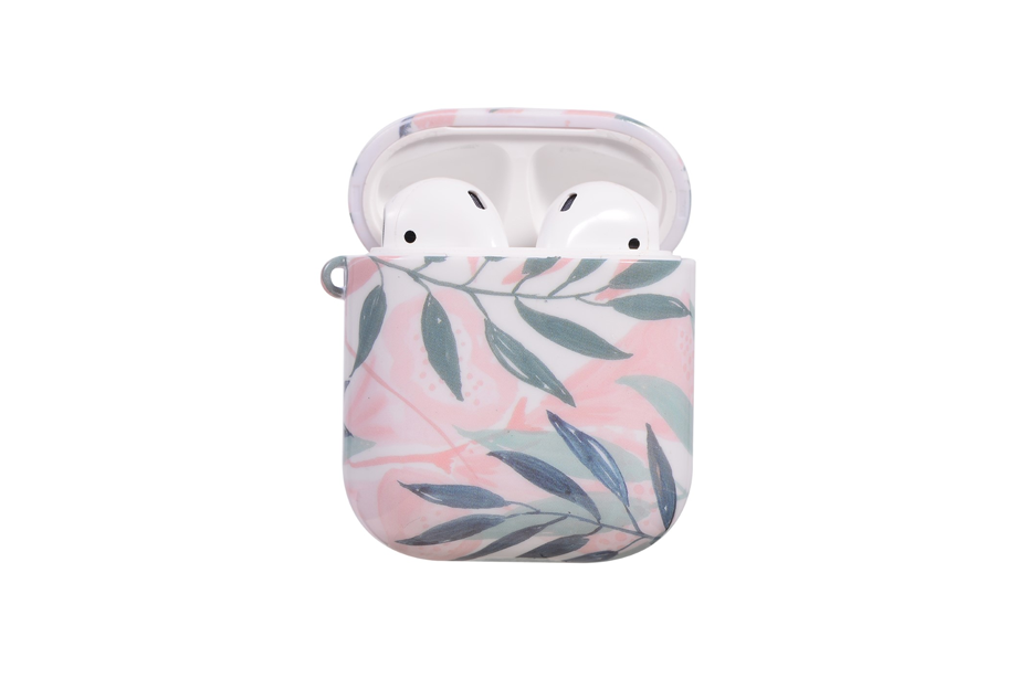 Pink Floral AirPod Holder