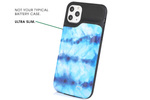 Blue Tie Dye Ultra Battery Power Phone Case