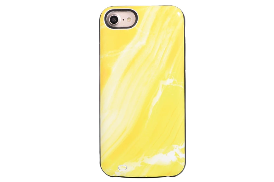 Glow Marble Battery Power Phone Case