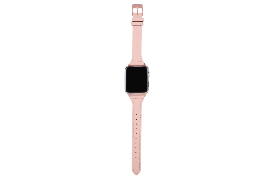 Rose Leather Watch Band