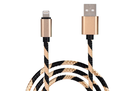 Purple & Gold Charge & Sync Cables
