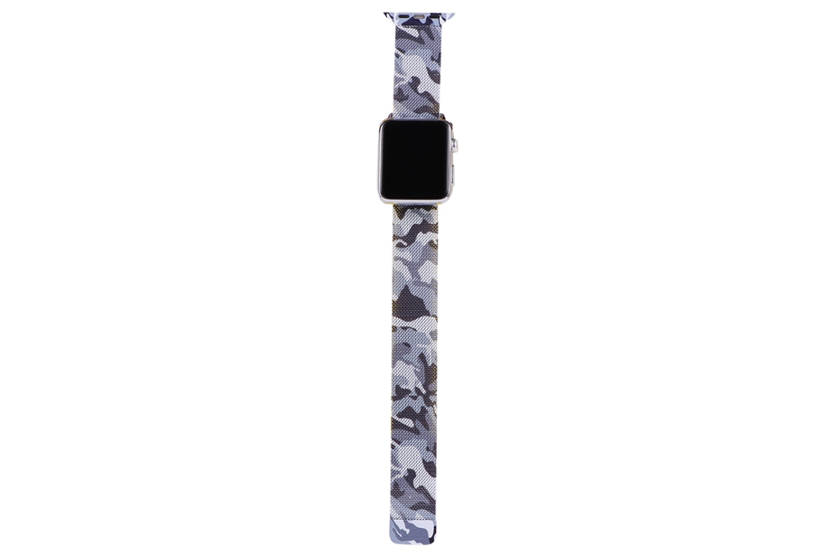 Blue Camo Watch Band