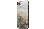 Charcoal Marble Battery Power Phone Case