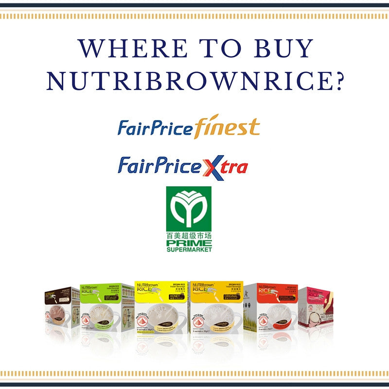Where can I buy NutriBrownRice in Singapore?