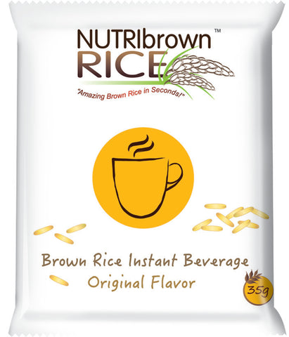 NutriBrownRice™ healthy instant powdered drink