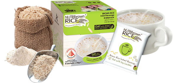NutriBrownRice® Oat with Soy Lecithin