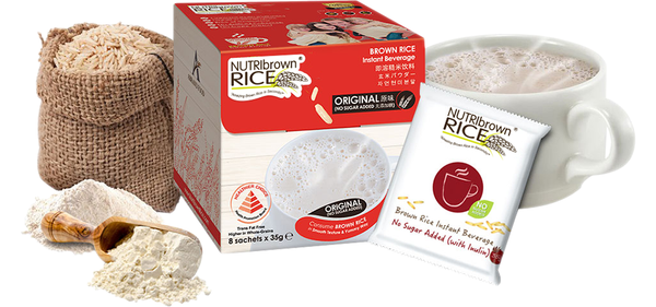 NutriBrownRice® Original (No-Sugar Added)